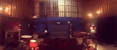 毎週土曜日に映画が上映される喫茶室「レガロビズ」