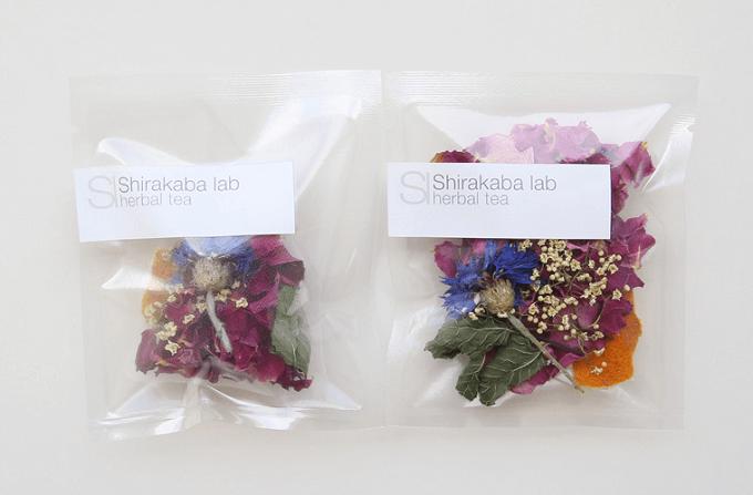 見た目もおしゃれな「Shirakaba lab(シラカバ ラボ)」のハーブティー「Longing for spring」