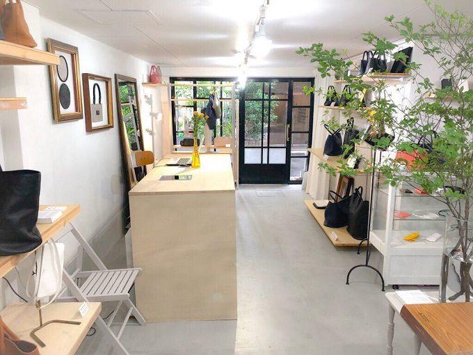 「SHOJIFUJITA(ショウジフジタ)」の店舗兼アトリエ