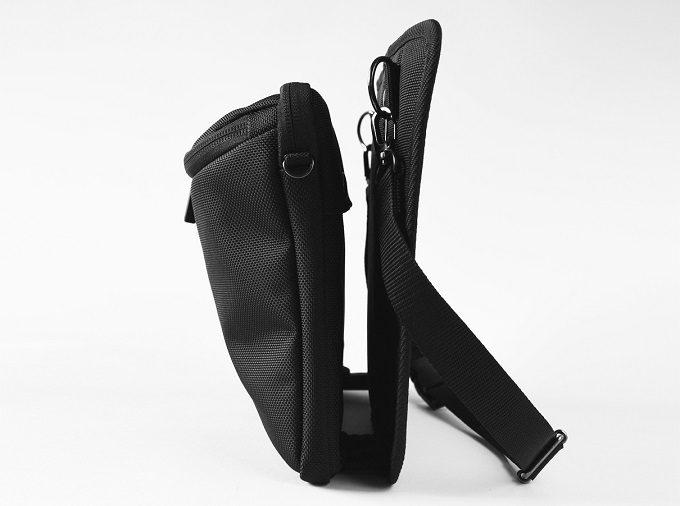 スタイリッシュで機能的なウエストバッグ「SUKIMA bag」の構造