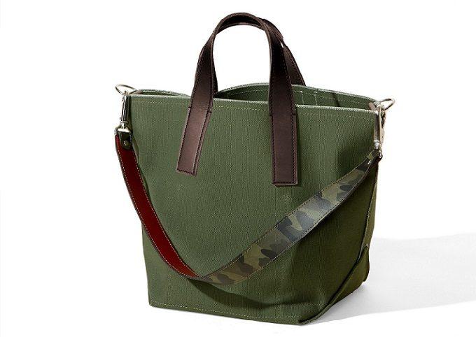「TAKEYARI」の極厚2号帆布を使った2wayトートバッグ
