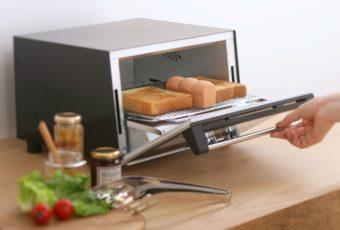 外はサクッと、中はもっちり。パンの水分を保っておいしく焼き上げる「トーストスチーマー」