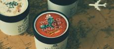 スープの味のスナック菓子「WORLD SOUP SNACK(ワールドスープスナック)」のパッケージ1