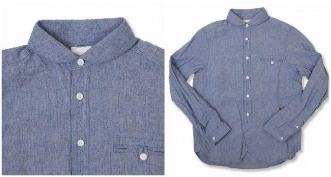 春におすすめの「maillot マイヨ」のリネンシャツ