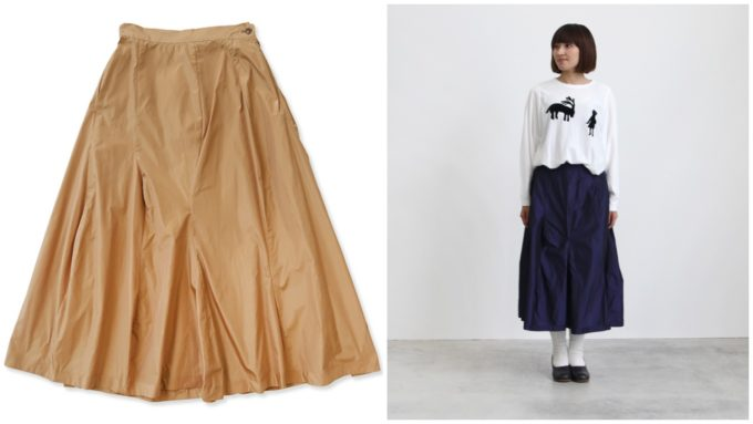 春におすすめ、「humoresque ユーモレスク」の大人かわいいロングスカート
