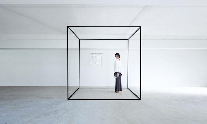 空間全体をイメージした「ke shi ki(ケシキ)」のレザーバッグ
