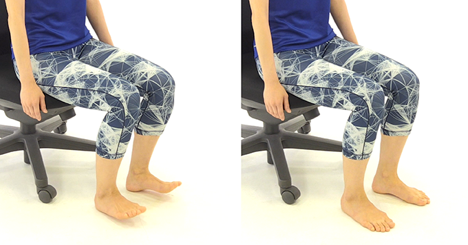 むくみに効果的な足首のエクササイズ2