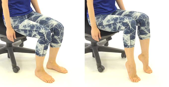 むくみに効果的な足首のエクササイズ1