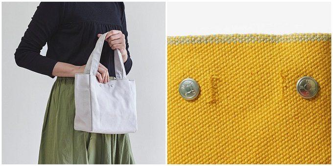 春におすすめ、カラーバリエーション豊富な「JOBU(ジョーブ)」の倉敷帆布のトートバッグ1