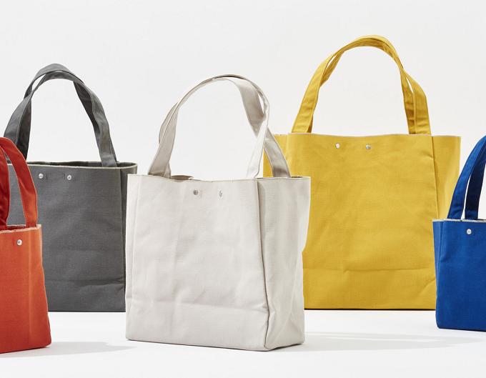 春におすすめ、カラーバリエーション豊富な「JOBU(ジョーブ)」の倉敷帆布のトートバッグ2