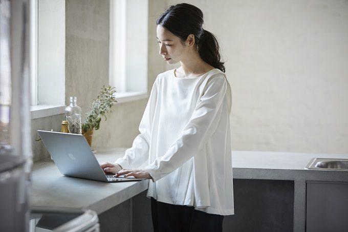 働く女性におすすめの「Kilka」の服、カットソー