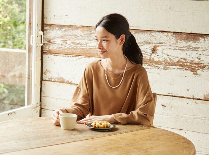 働く女性におすすめの「Kilka」の服、ワンピース、ベージュ2