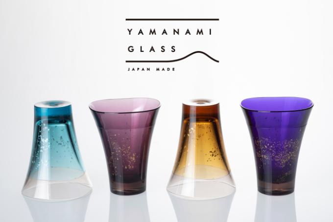「YAMANAMI GLASS」のカラー展開