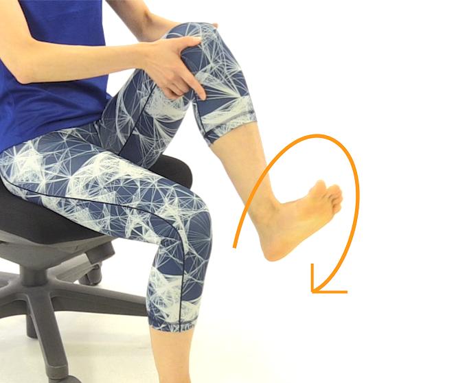 むくみに効果的な足首のエクササイズ3