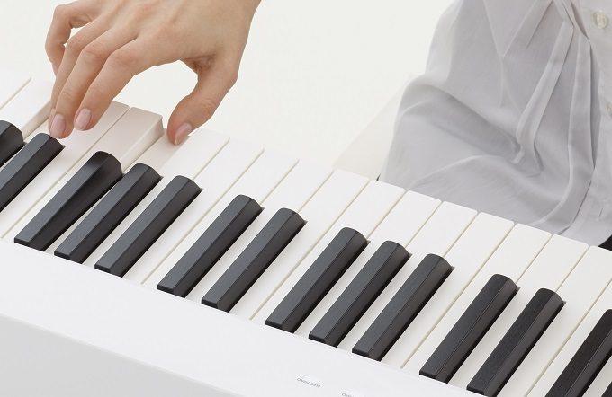 カシオのデジタルピアノ「Privia」の鍵盤