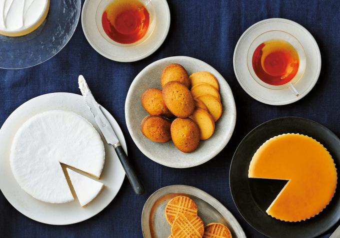 「チーズガーデン」のチーズスイーツ