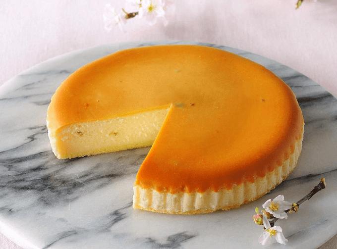 「チーズガーデン」の「さくらチーズケーキ」