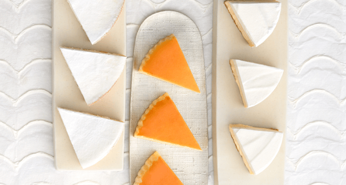 「チーズガーデン」のチーズケーキ
