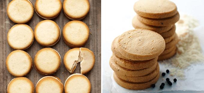 「チーズガーデン」のラングドシャとクッキー