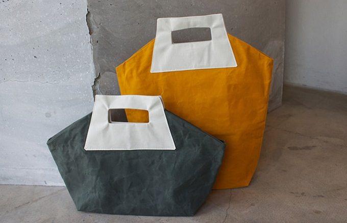 「grasspool」のカラフルなトートバッグ