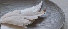 和紙で作られた葉っぱの形のお香「HA KO」1