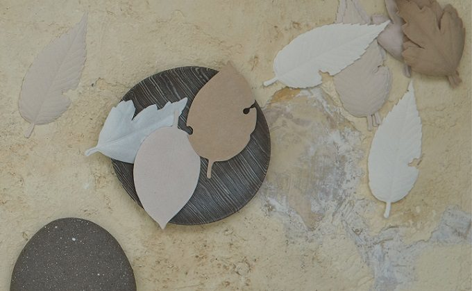 和紙で作られた葉っぱの形のお香「HA KO」4