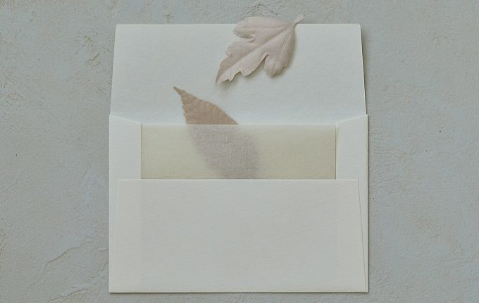 文香(ふみこう)としても使える和紙で作られた葉っぱの形のお香「HA KO」