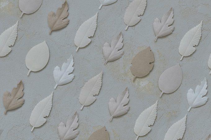 和紙で作られた葉っぱの形のお香「HA KO」5