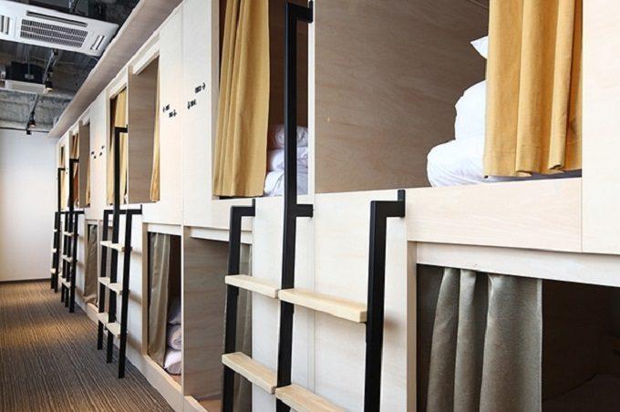 東京都内のおすすめホテル「UNPLAN Kagurazaka」の客室