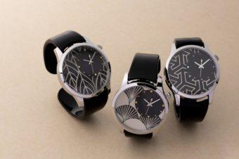蒔絵や和紙の技術を活かした一品。「IGATTA COLLETTI」の腕時計