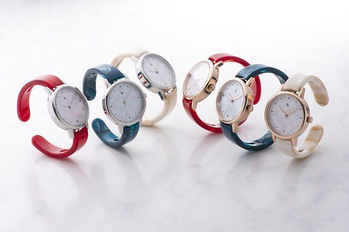 越前和紙を敷き詰めた「IGATTA COLLETTI(イガッタコレッティ)」の腕時計、バリエーション