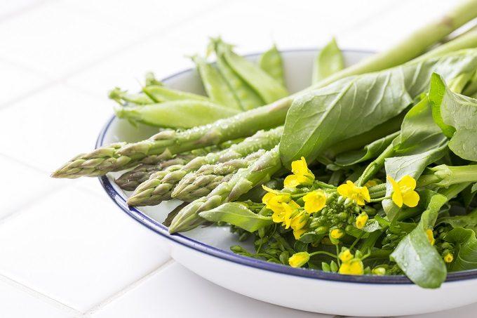 ダイエットにおすすめの春野菜