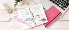 新生活におすすめな手帳「meets planner」使用例1