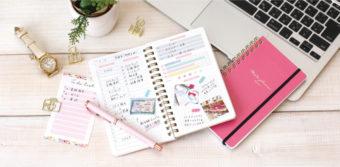 目標や予定をしっかり管理できる。新生活におすすめな手帳「meets planner」