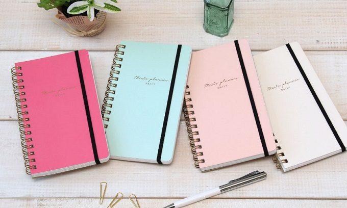 新生活におすすめな手帳「meets planner」カラーバリエーション