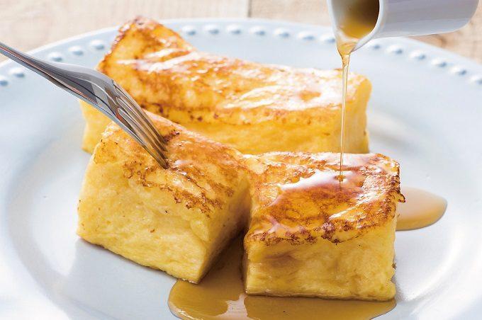 高級デニッシュ食パン「MIYABI」のフレンチトースト2