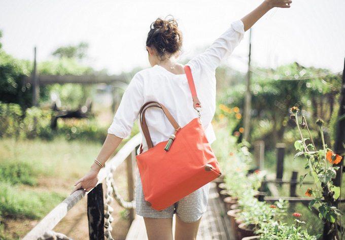 テキスタイルのブランド「SALASUSU(サラスースー)」のおすすめトートバッグ「1-Day Trip Tote」