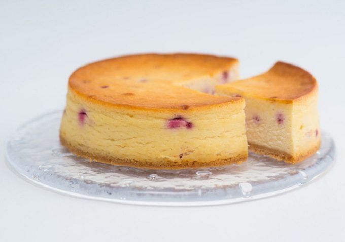 奈良のお菓子屋「祥樂(しょうがく)」のおすすめ和スイーツ、桜のチーズケーキ