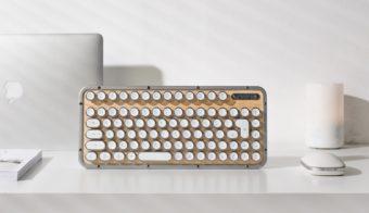 レトロでスタイリッシュ。ライフスタイルの一部になる「AZIO(エイジオ)」のキーボード