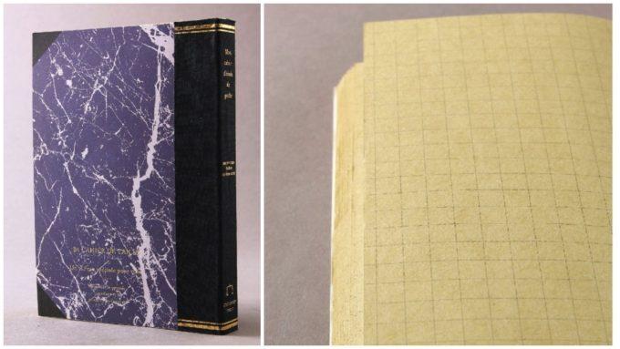 本のようなデザインの「ラフノート」、「クラック」