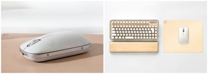 レトロでスタイリッシュな「AZIO(エイジオ)」のキーボードとマウス