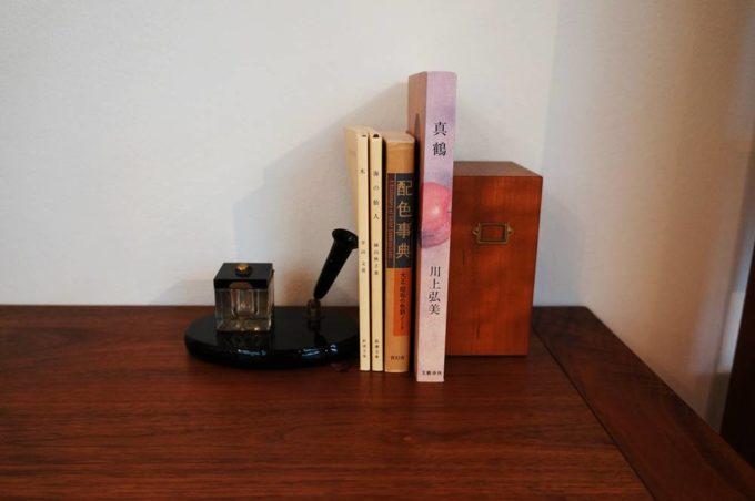 清澄白河のオーダー家具のショールーム「アオゾラカグシキ會社」の文庫エンド