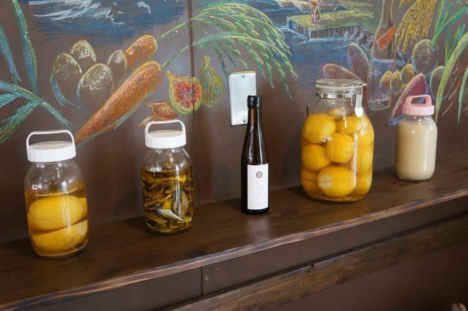 食べられるミュージアム「風土はfoodから」の店内写真