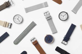 潔いシンプルさが魅力。「10:10 BY NENDO」の定規のようなデザインの腕時計