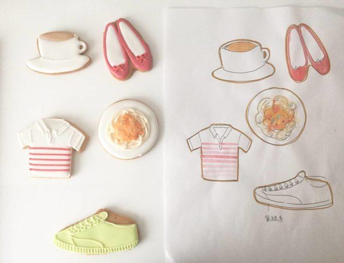 「Canvas Cookies(キャンバスクッキー)」の可愛いアイシングクッキー、靴