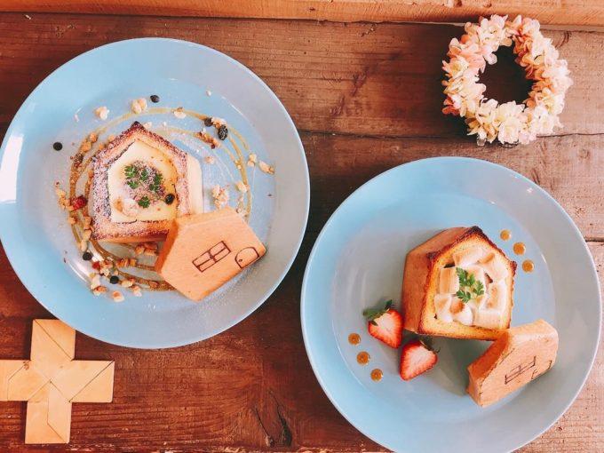 パンとカフェの店BRUNOで味わえるおうちパンのアレンジメニュー