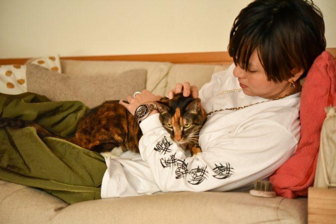 編集ディレクター・野辺真葵さんの愛猫4