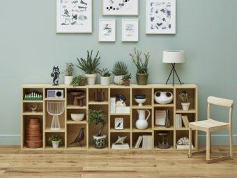 1cm単位でカスタム可能。お部屋にぴったりと合わせられるオリジナル収納棚とは