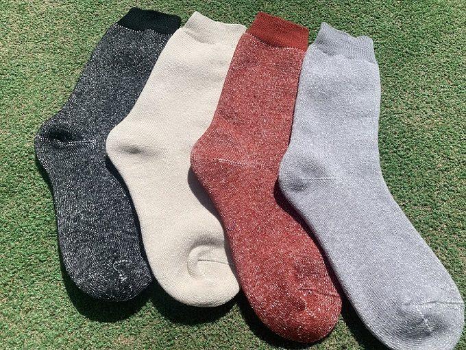 夏におすすめの蒸れない靴下「Ashitabi(あしたび)」ロングタイプ
