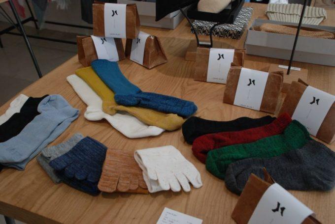 北千住にある「baku(バク)」のおすすめ商品、「Ponte de piet!(ポンテ・デ・ピエ」の靴下
